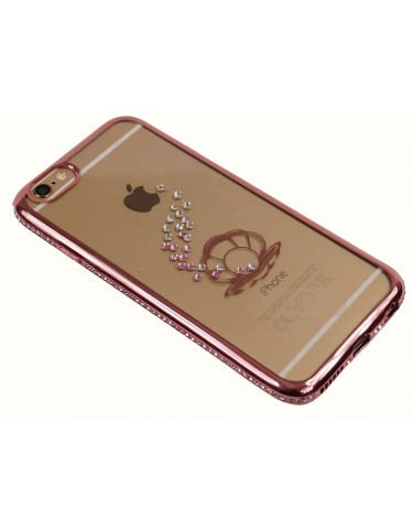 LUXURY SHELL SWAROVSKI CRISTALS ROSE GOLD