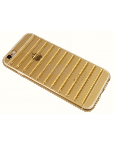iPhone 6 s STRIPES TRANSPARENT GOLD