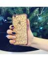 iPhone 7 Plus TRANSPARENT TRIANGLES ROSE GOLD