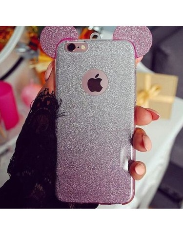 iPhone 6 s Plus MICKEY MOUSE PINK 2in1 PINK
