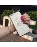 iPhone 6 s SWAN SWAROVSKI CRISTALS GOLD