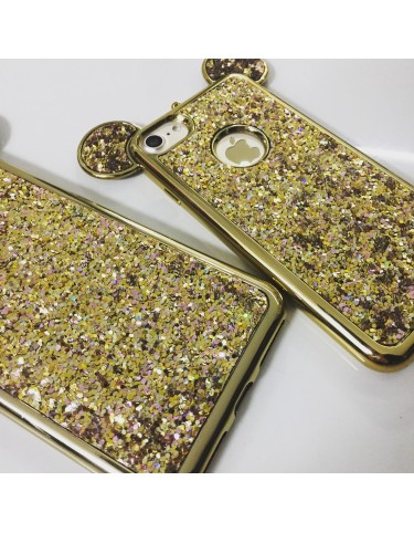 Mouse Glitter Gold