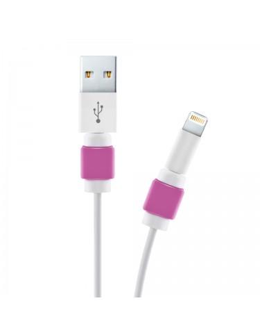 OSŁONA NA WTYCZKĘ KABLA USB FIOLET