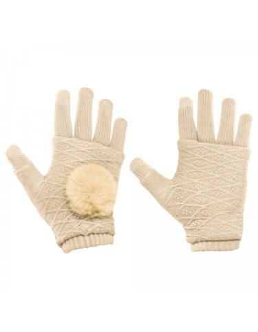 TOUCH SCREEN GLOVES GOLD