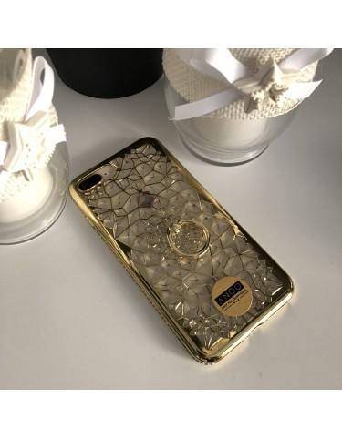 RING SWAROVSKI CRISTALS GOLD