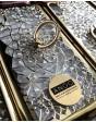 LUXURY RING SWAROVSKI CRISTALS GOLD