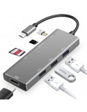 ANOO DeX ADAPTER HUB USB Samsung Huawei MacBook 7 PORT