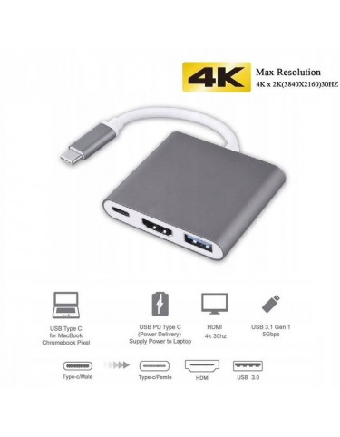 ANOO DeX ADAPTER HUB USB Samsung Huawei MacBook 3.0