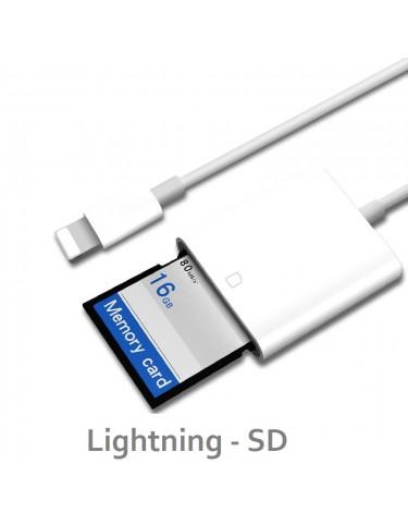 Czytnik Kart SD Lightning