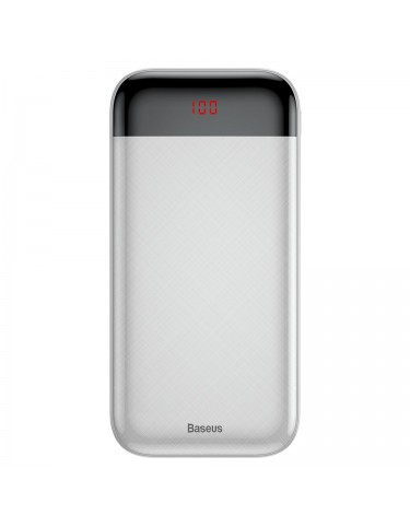 POWER BANK Mini Cu 20000mAh biały