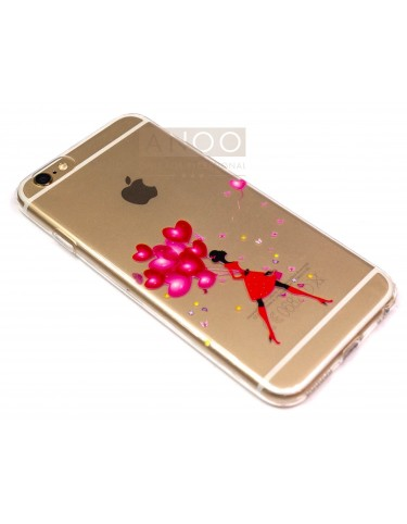 iPhone 6 s BALLOON RED LADY