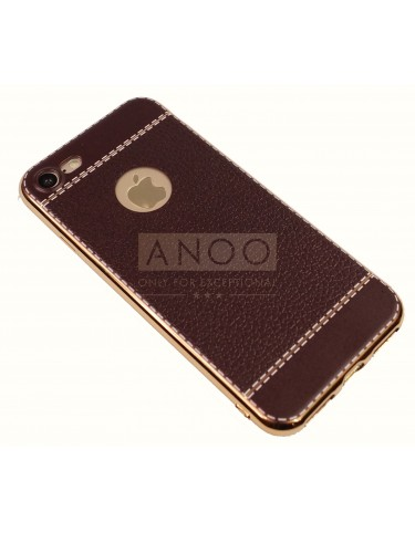iPhone 7 LEATHER GRAIN BROWN