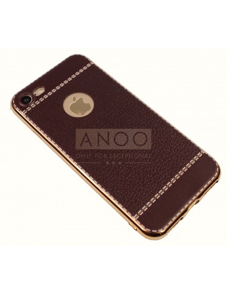 STYLE LEATHER GRAIN BROWN