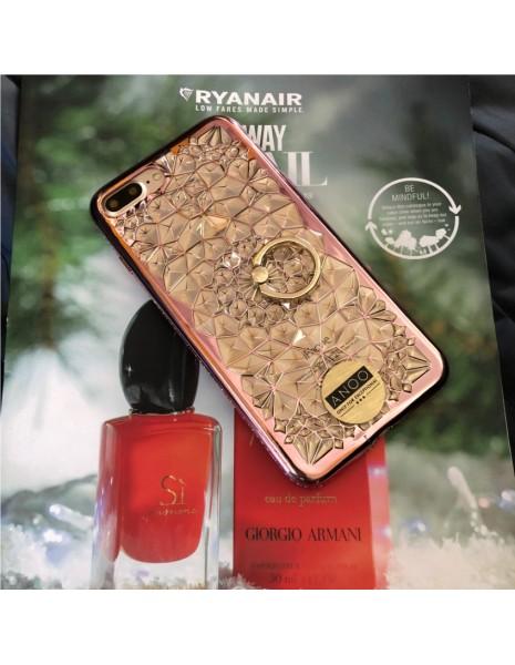 RING SWAROVSKI CRISTALS ROSE GOLD