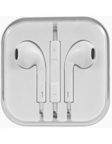 Słuchawki z mikrofonem iPhone iPad iPod białe
